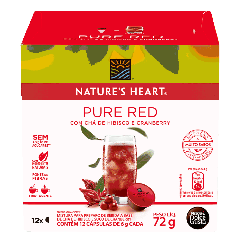 NATURE'S HEART PURE RED